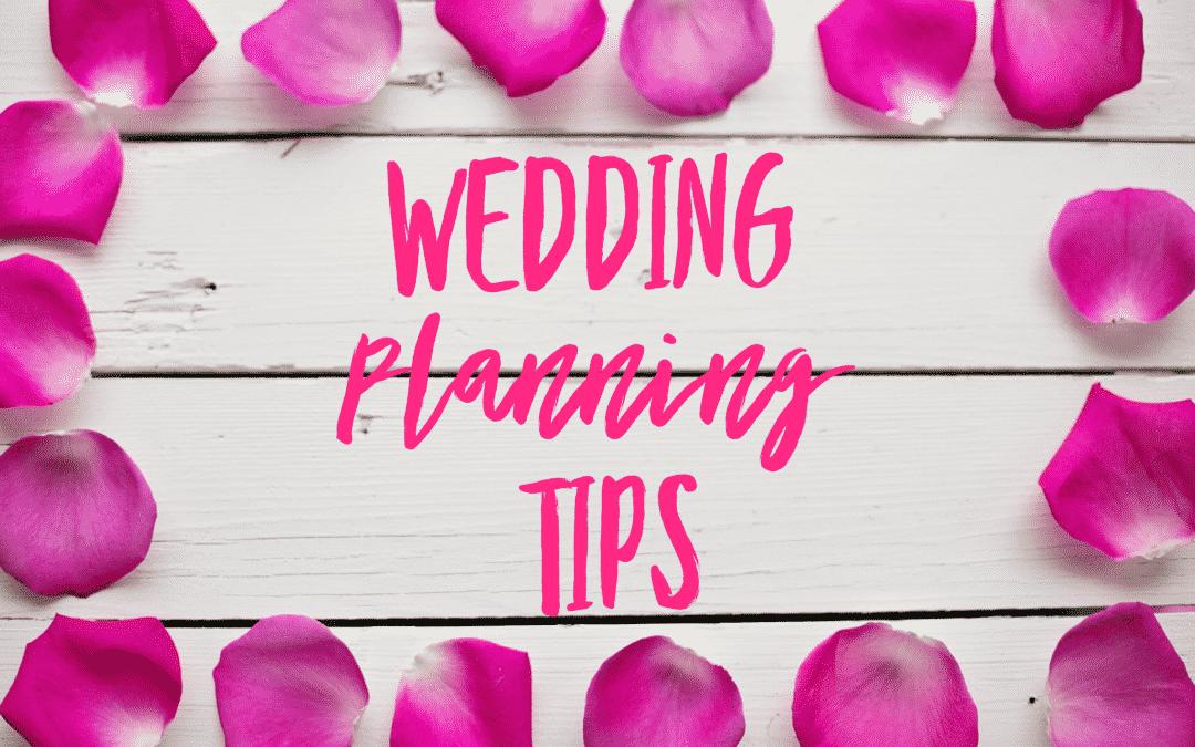 Wedding Planning Tips: Venue, DJ, Photo!